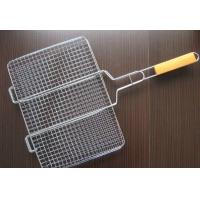Durable Barbecue Wire Mesh Screen , Sliver Stainless Steel Bbq Mesh 30m Manufactures