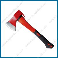 Wholesale fiberglass handle axes with claw, axe with pry bar, claw hatchet with fiber glass handle from china suppliers