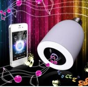 Wireless LED Lamp Bluetooth Audio Speaker Manufactures