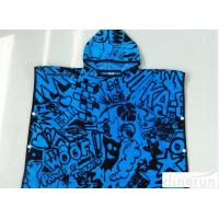Buy cheap Childrens Poncho Beach Towels , Poncho Swimming Towels For Sports from wholesalers