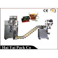 Automatic Filling Function Herbs Tea Packaging Machine Triangle Dimensional Manufactures