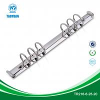 Buy cheap 8.5 inches metal 6 ring mechanism, mechanism for folder from wholesalers