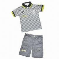 Buy cheap Boys' Suit/Children's 2-piece Set, Customized Designs Welcomed from wholesalers