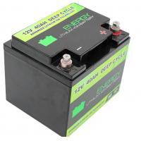 Buy cheap Long life lifepo4 battery pack 12V 40Ah lithium ion battery from wholesalers