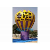 Buy cheap Outdoor Inflatable Grand Advertising Ground Balloon For Advertisement / Parties from wholesalers
