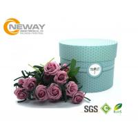 Buy cheap Flower Gift Box Universal Paper Round Flower Box CMYK Full Color Offset Printing from wholesalers