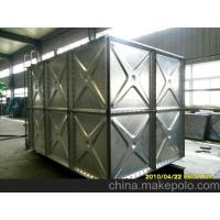 Buy cheap pressed hot galvanized steel water tank from wholesalers