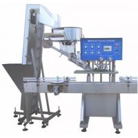 Buy cheap High Speed Screw Capping Machine / Vacuum Electric Capping Machine from wholesalers