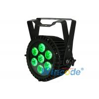 Buy cheap High Power LED Par Light Quad Color 4 In1 RGBWA 7 X 10w Sound Active For Hotel from wholesalers