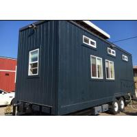 Buy cheap OEM Custom Tiny House Prefabricated / Fully Furnished Tiny Homes With Trailer Wheel from wholesalers