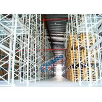 Buy cheap Powder Coating Pallet Rack Shelving , Industrial Pallet Racks Heavy Duty For Singler Layer Stores from wholesalers