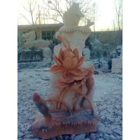 Wholesale natural stone fountain lotus from china suppliers