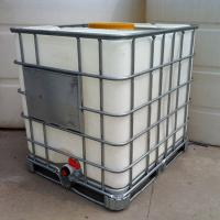 Buy cheap IBC water storage tank with Steel pallet collapsible from wholesalers