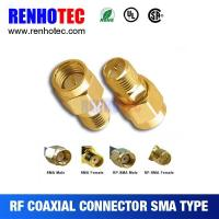 Buy cheap Straight Male SMA to Reverise Polarity SMA Adapter from wholesalers