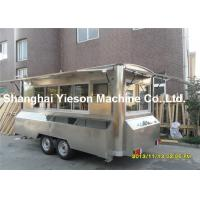 Camping Kitchen Mobile Cooking Trailers Strong Stainlee Steel Manufactures
