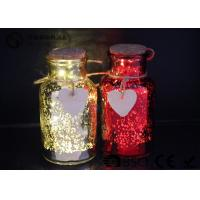 Wholesale Glass Jar Wine Bottle Led Lights For Home / Party / Events WB-019 from china suppliers