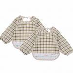 Buy cheap Soft Absorbent Baby Bandana Bib , 100% Organic Cotton Baby Coverall Bib from wholesalers