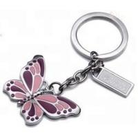 Buy cheap Custom Promotional Metal Keyrings , Enamel Key Chains Logo Style Can Design from wholesalers