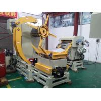 Buy cheap Leveler Machine 3 In 1 Decoiler Straightener Feeder For household appliances manufacturers from wholesalers