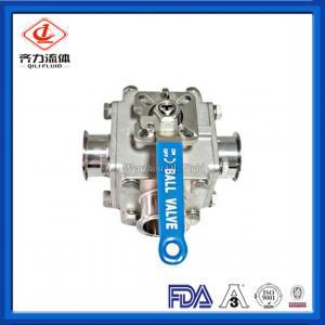 China Detachable Flange Sanitary Ball Valve  Non Retention Full Bore Ball Valve on sale