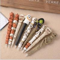 Buy cheap Halloween Theme Skull ballpoint pen Ghost ball point pen Resin ball pen from wholesalers