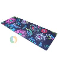 Buy cheap indoor comfortable rubber floor mat yoga mat with your own logo, Eco-friendly non slip yoga mat from wholesalers