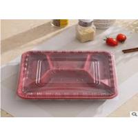 Buy cheap Disposable PP Biodegradable Plastic Packaging , 4 Compartment Microwave Safe Containers Lunch Box For Catering from wholesalers