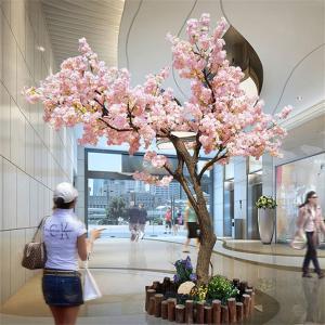 Wholesale 3m Fake Japanese Style Cherry Blossom Tree Sakura Flower Garden Decoration from china suppliers