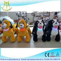 Hansel children and adult can drive coin operated plush animal happy rideable horse toys Manufactures