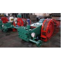 Buy cheap Professional Lye / Polymer Pump , Three Cylinder Horizontal Plunger Type Pump from wholesalers