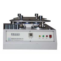 Buy cheap 4 Station Martindale Abrasion Testing Machine For Fabric / Textile / Rubber And Leather from wholesalers