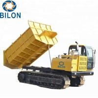 Buy cheap 132kw Rated Power Crawler Dump Truck With 10000kg Rated Load from wholesalers