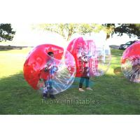Wholesale Body Zorbing Bubble Ball , Bouncing Inflatable Human Bumper Ball from china suppliers
