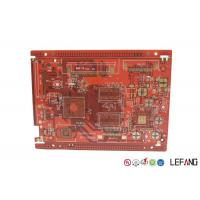 Wholesale Red Solder Mask PCB Printed Circuit Board Communication Electronics Application from china suppliers