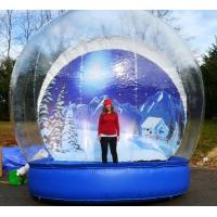 Buy cheap Outdoor Transparent Beautiful Giant Advertising Inflatables Snow Globe CE Approval from wholesalers