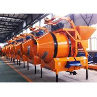 Buy cheap Industrial Dry Mix Portable Concrete Mixer , 3 Point Rotating Drum Stone Cement Mixer from wholesalers
