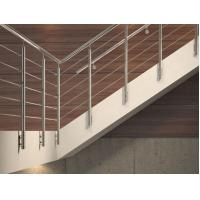 Buy cheap Easy Install Stainless Steel Rod Railing Durable Security Rod Iron Stair Railing from wholesalers