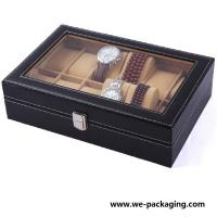 Buy cheap PU Leather Gift Packaging Box,watch box from wholesalers