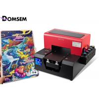 Buy cheap Inkjet A4 Flatbed Industrial UV LED Printer For Pencil Pen Printing Machine from wholesalers