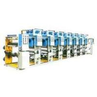 Buy cheap WLS 4 color Rotogravure paper printing machine for PVC, OPP, CPP, Paper, NY, PET from wholesalers