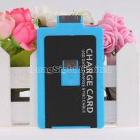 Buy cheap Useful Credit Card Charging Cable For iPhone 4/4s Samsung HTC Blackberry with 3mm desgin from wholesalers