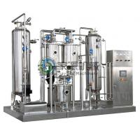 Buy cheap High Pressure Carbonated Beverage Mixer 1000 - 6000 L / hr Beverage Making Machine from wholesalers