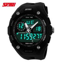 Buy cheap Multi Time Zone Analog Digital Wrist Watch With Japanese Battery from wholesalers