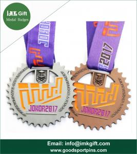 Wholesale 3D Design Customized American Crafts Award Blank Sport Taekwondo Medal with Medal Ribbon from china suppliers