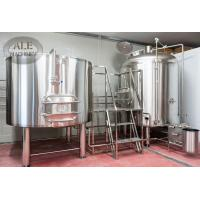 Buy cheap AL-15HL beer brewing equipment/Small beer producing/brewhouse/Commercial glycol jacket conical fermenter/bbt from wholesalers