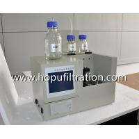 Buy cheap Transformer Oil Total Acid Number Tester and PH Value Tester by Tester Potentiometric Titration Method from wholesalers