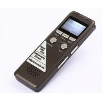 Buy cheap 8GB Digital Voice Recorder 350Hr standby Dictaphone with MP3 Player from wholesalers