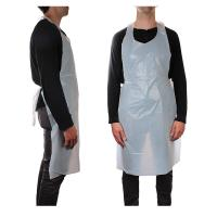 Buy cheap Oil Stain Resistant Disposable CPE Plastic Aprons For Restaurant / Coffee Bar from wholesalers