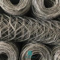 Buy cheap Hexagonal wire netting in rolls 2*1*1M PVC coated gabion box wire mesh fence rolls from wholesalers