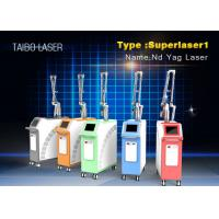 Buy cheap 1064nm Q Switch Nd Yag Laser Pigment Removal Machine 2000MJ Laser Tattoo Removal Machine from wholesalers